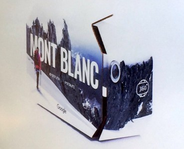 carboard google montblanc paris match