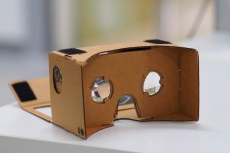 cardboard google casque realite virtuelle